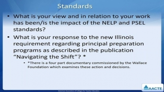 How Accrediting Organizations and Standards Can Improve Principal Quality