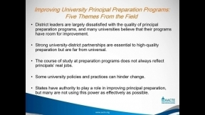 Supporting Novice Principals on the Job: Working Together to Improve Preparation