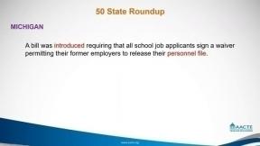 September 2019 - State of the States Legislative Roundup