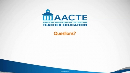 AACTE State Legislative Resources Webinar