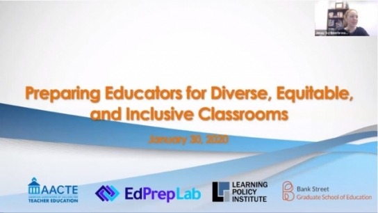 Preparing Educators for Diverse, Equitable, and...