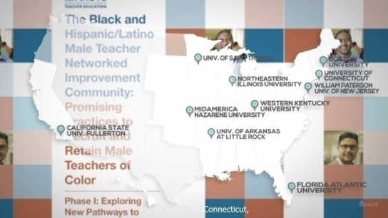 Focus on Recruiting and Retaining Black and Hispanic-Latino Male Teachers