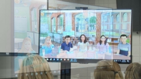 Towson University College of Education Features the Mursion Virtual Classroom