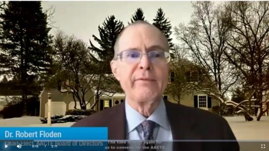 Robert Floden Discusses AACTE's Virtual Annual Meeting
