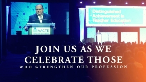 Join us for the 2021 AACTE Awards