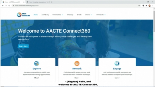 Introducing AACTE Connect360