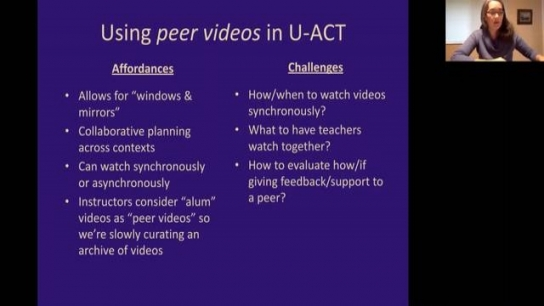 Using Video Across Programmatic Spaces to Support Teachers' Learning
