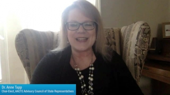 Anne Tapp Discusses AACTE Membership
