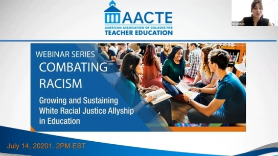 Growing and Sustaining White Racial Justice Allyship in Education