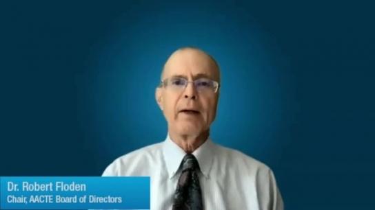 Robert Floden Introduces AACTE Connect360
